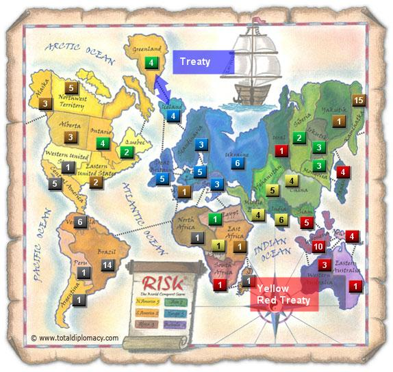 Total Diplomacy Risk Map: FriendsThaksgiving7