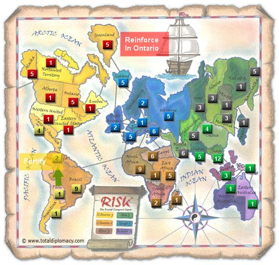 Total Diplomacy Risk Map: Tipping-Point-post-fort