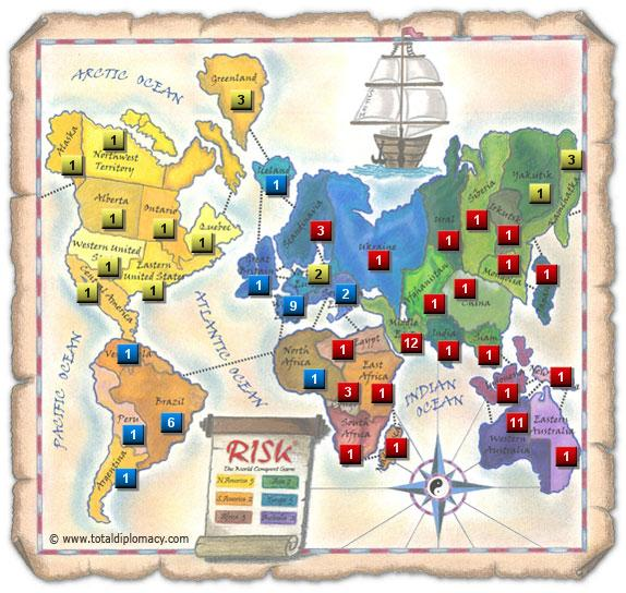 Total Diplomacy - Initial Risk Game Strategy 8
