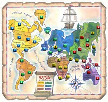 Risk Strategies, Scenario 2: Playing as Australia