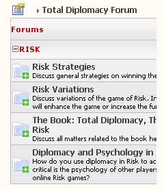 Total Diplomacy forum Risk strategies