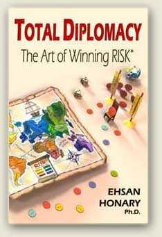 Book, Total Diplomacy, The Art of Winning Risk Front Cover